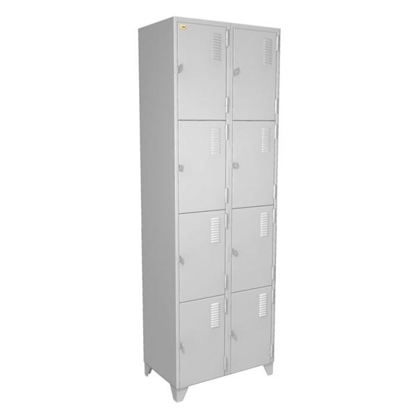 Roupeiro de a o 8 compartimentos for Armario vestiario 8 portas